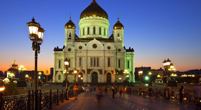 Moscow At Night Daily Group Tour Provided by MoscowMe - daily group & private tours