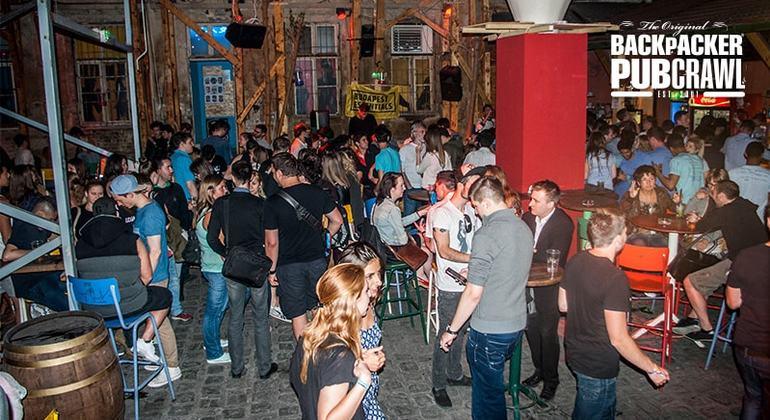 Pub Crawl Budapest Hungary — #4