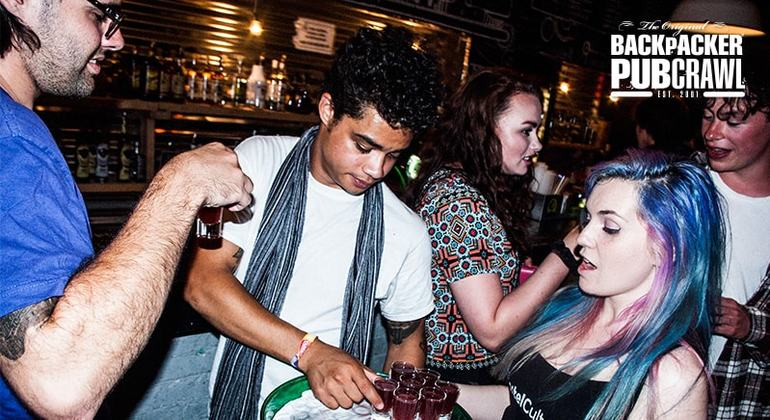 Pub Crawl Budapest Hungary — #29