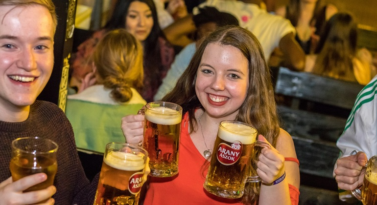 Generation Pub Crawl Budapest Hungary — #2