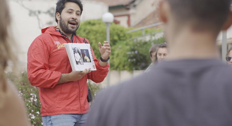 Simon Bolivar Free Walking Tour Bogota