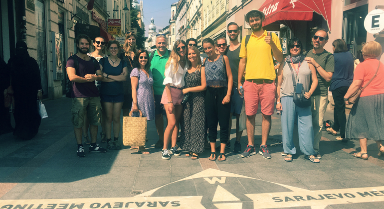 Free Walking Tour of Sarajevo Provided by Tallest Tourguide Tours