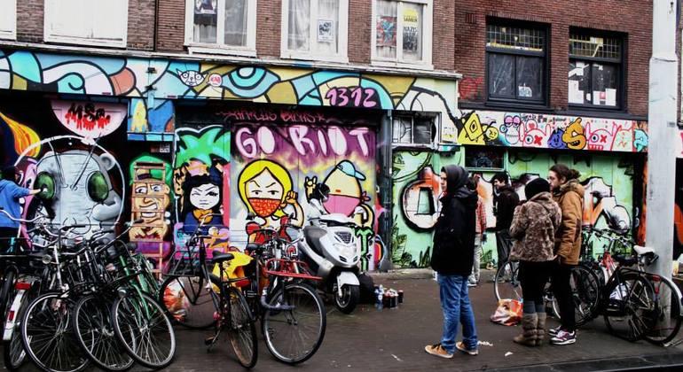 Street Art n Alternative Amsterdam Walking Tour Netherlands — #5