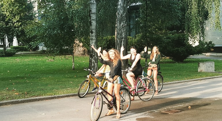 Free Bike Tour Ljubljana Provided by Free bike tour Ljubljana