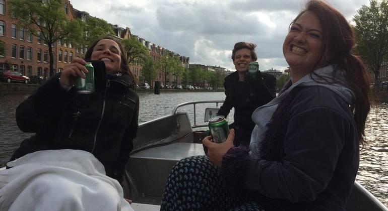 Alternative Open Boat Tour Provided by Alltournative Amsterdam