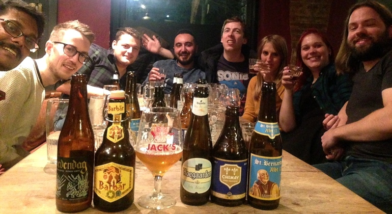 Nightly Bruges Beer Tasting Provided by Legends Free Walking Tours