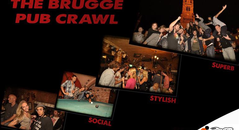 The Brugge Pub Crawl Operado por Can You Handle It Tours