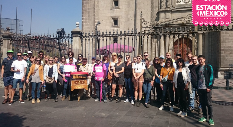 Free Walking Tour Historic Downtown Mexico — #1