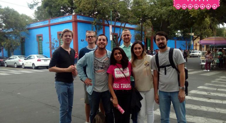 Estación México Free Walking Tour Coyoacan Mexico — #16