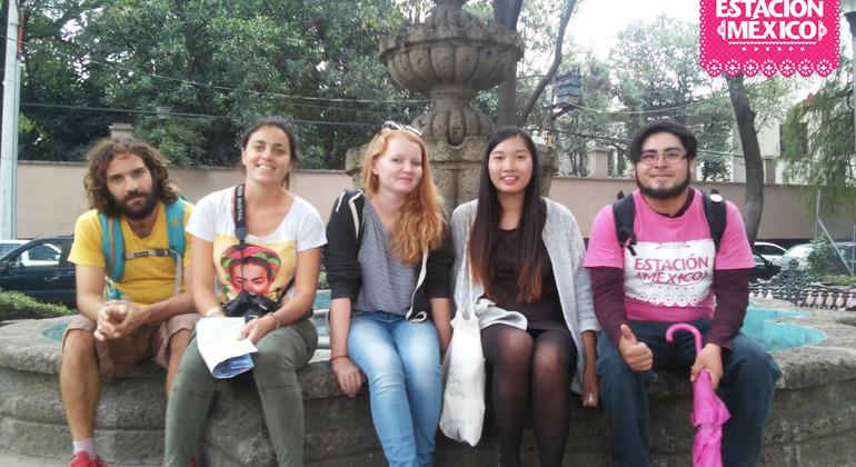 Estación México Free Walking Tour Coyoacan Mexico — #27