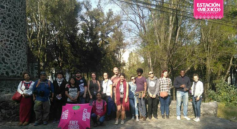Free Walking Tour Coyoacan Mexico — #37