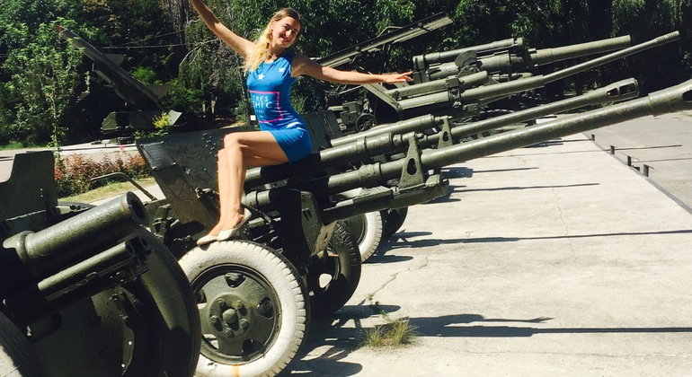 411 Battery - Soviet Military Tour Provided by Tourist info center Move in Ukraine