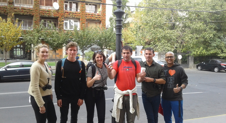 Free Cultural Walking Tour of Yerevan Provided by Tigran Ghazaryan