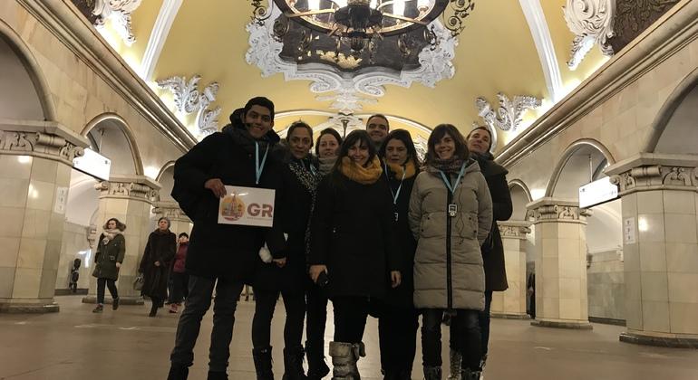 Free Tour Español Metro de Moscú Provided by Cesar Palomo