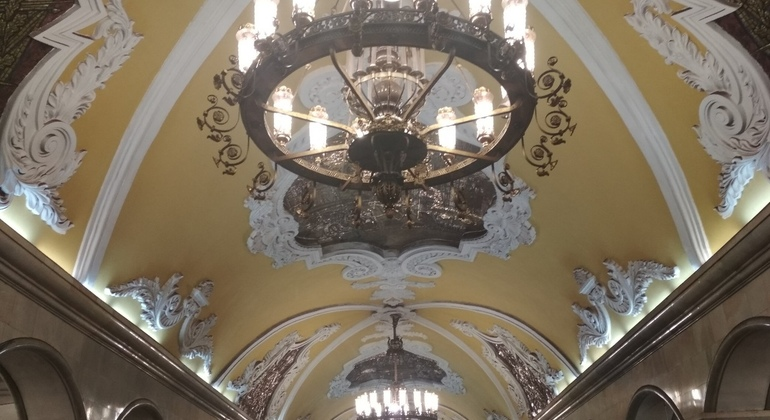 Top-7 Moscow Metro Stations Tour Provided by Darya Alekseeva