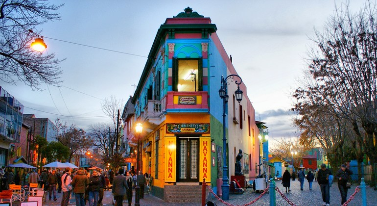 Walking Tour La Boca Argentina — #1