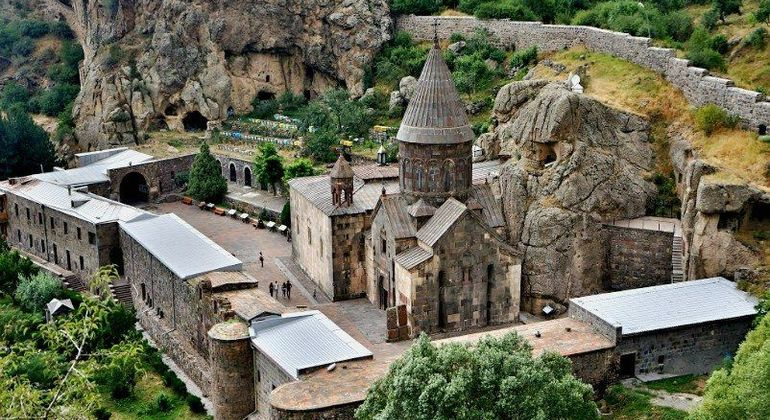 Geghard & Garni: Travel Back In Time To Pre-Christian Yerevan Provided by Anna