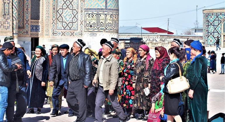 Tour de un Día por la Ciudad de Samarcanda Uzbekistán — #35