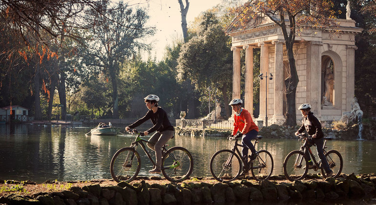 Rome in a Day Electric-Assist Bike Tour Provided by TopBike Rental & Tours