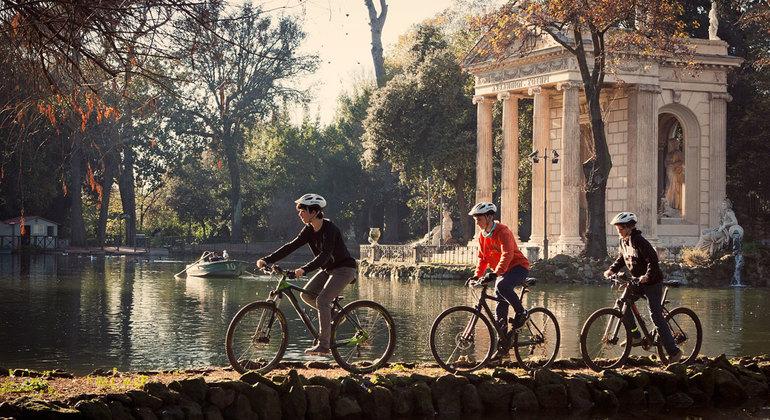 Roma en un Día en Bicicleta de Asistencia Eléctrica Operado por TopBike Rental & Tours