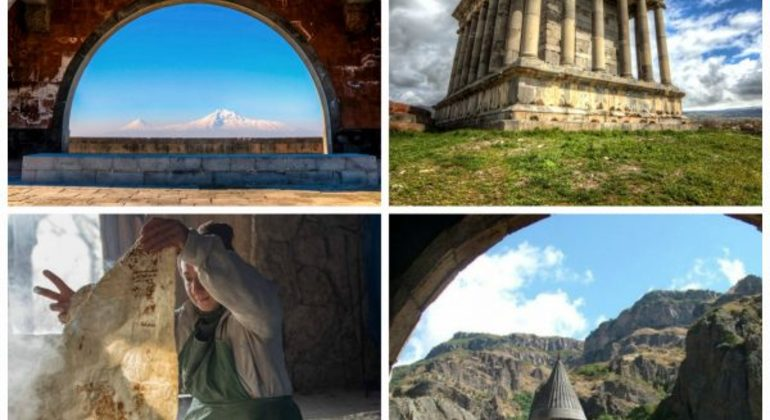 Full Day Private Guided Driving Tour to Echmiadzin, Geghard and Garni Provided by Greater Armenia Tours