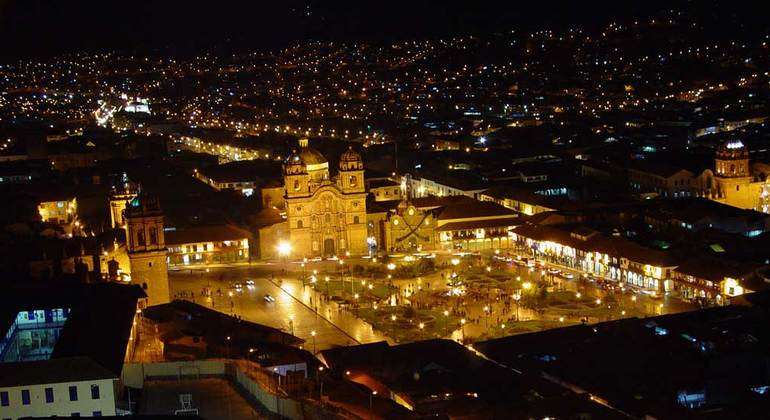 Night Tour in Cusco Operado por chullos travel perú