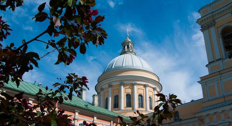 Alexander Nevsky Lavra Petersburg Tour Provided by Alla Dobrohotova