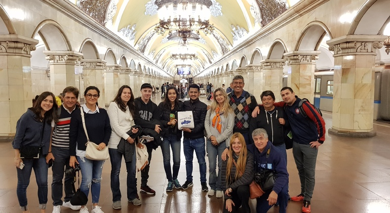 Moscow Tour: Historical Center and Metro Provided by Tour Gratis Moscú