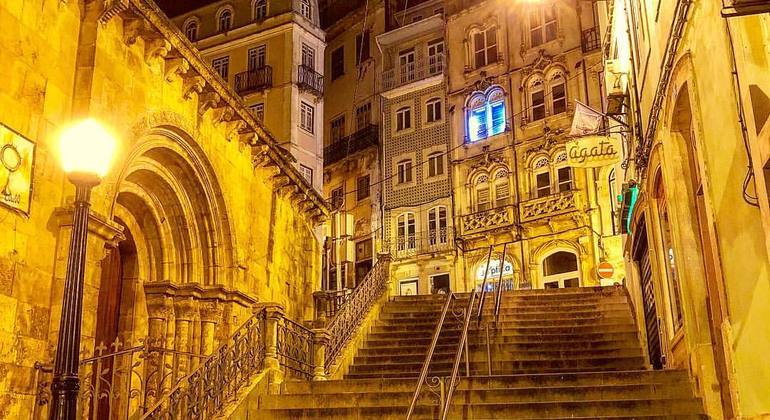 Coimbra by Night Provided by Coimbra Walking Tour