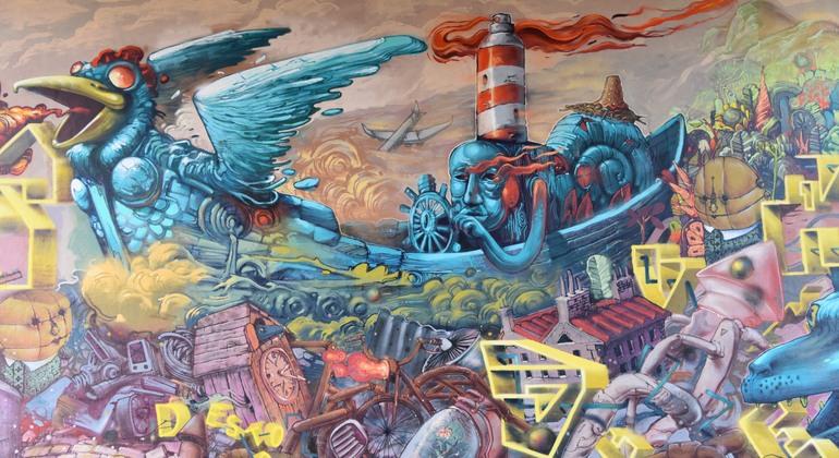 Mainz - Wiesbaden Free Street Art Tour Germany — #11