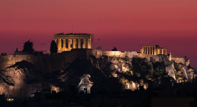 The Magic of Athens at night in Spanish Provided by Luis Avilan