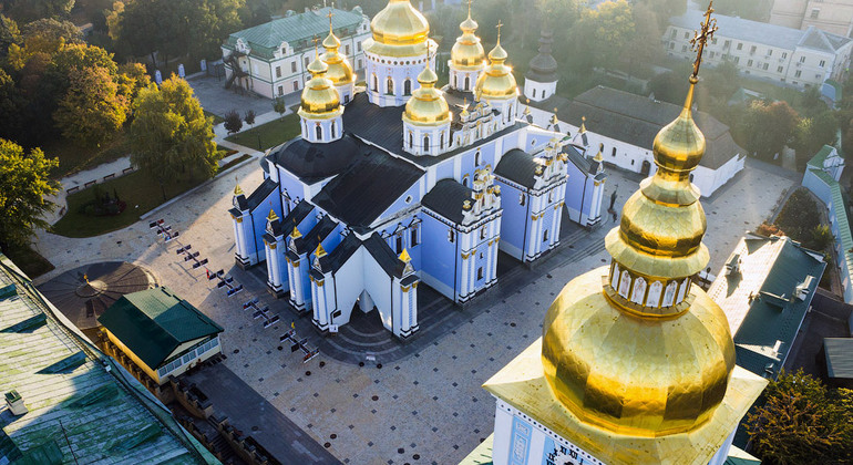 Ancient Kiev: the Legend and the Truth Provided by Larisa