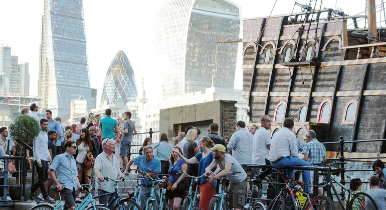 Old Town Tour Provided by London Bicycle Tours