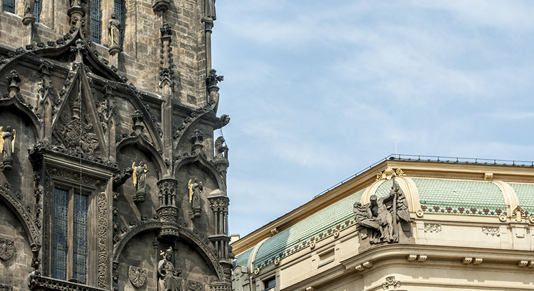 Free Old Town Jewish Quarter Prague FREETOURcom - A walking tour of prague 15 historical landmarks