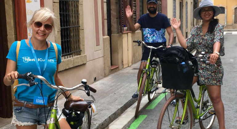 Barcelona Bike Tour Provided by Generation Tours